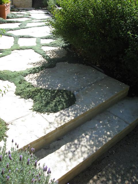 Planted Joints modern-landscape