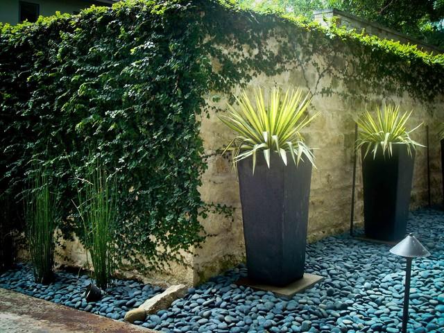 Planters contemporary-landscape