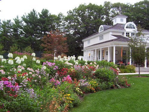 French Cottage Garden Design summer garden party event french country cottage Traditional Landscape By Walpole Landscape Architects Designers Natureworks Landscape Services Inc