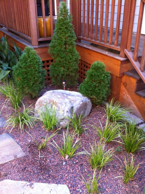 plantings traditional-landscape