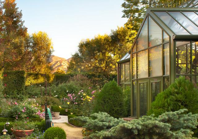 Pomello Residence Victorian Landscape Los Angeles