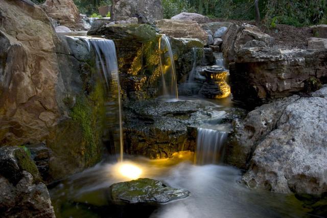 Pond and Landscape Lighting tropical-landscape