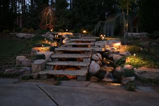 Pond and Landscape LED Lighting