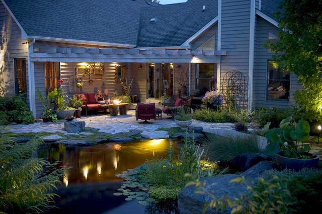 pond lighting ideas. Pond And Landscape Lighting Tropicalgarden Ideas