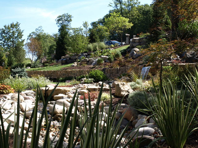 Pondless Water Feature - Traditional - Landscape ...