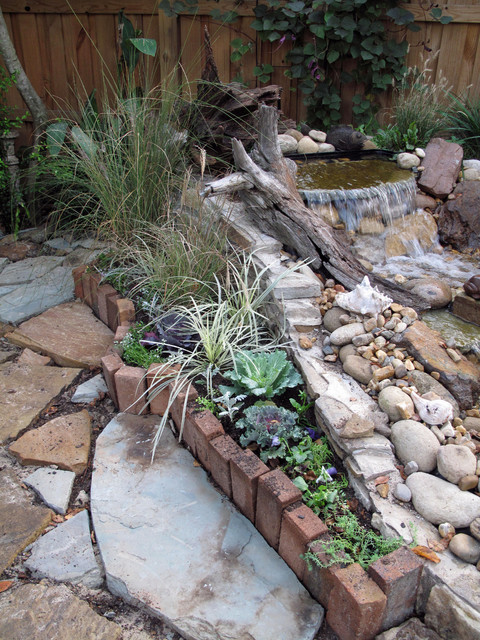 Pondless Waterfall modern-landscape