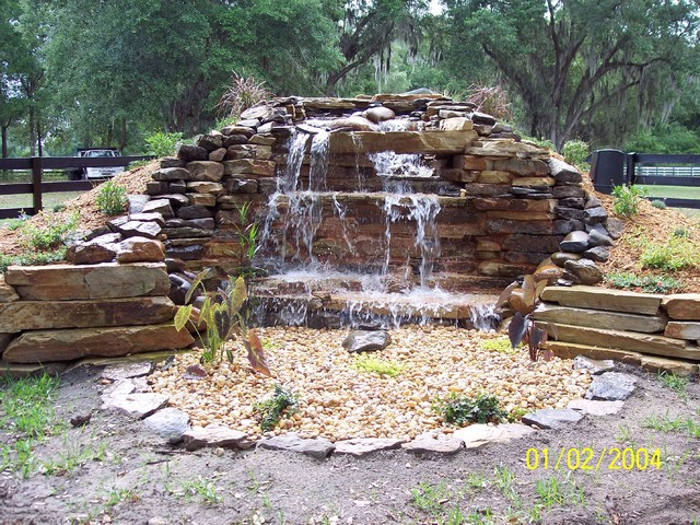 Beau PONDLESS WATERFALLS Traditional Landscape