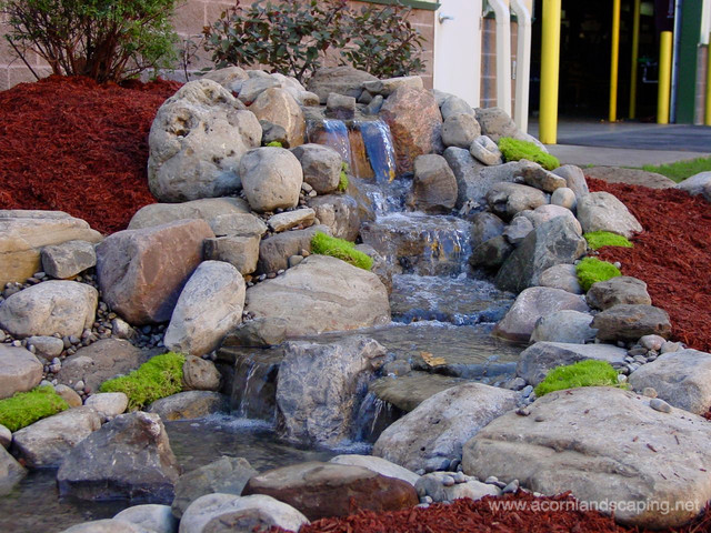 Pondless waterfalls water features rochester ny for Pond water features waterfalls