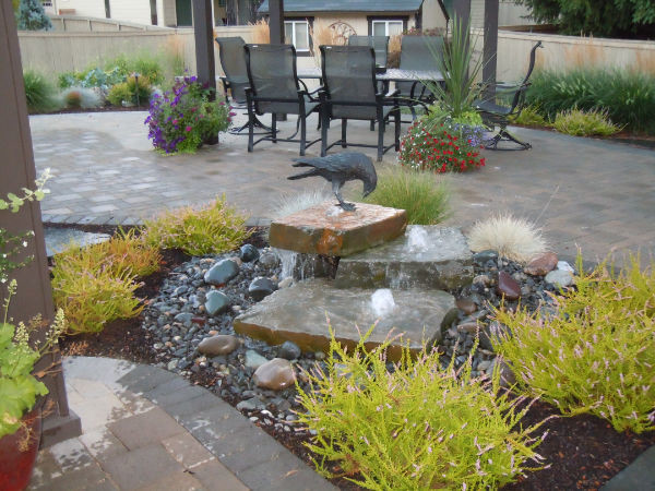 Ponds and Water Features traditional-landscape