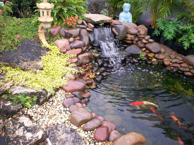 Build A Landscape Pond : All Rooms  Outdoor Photos  Landscape