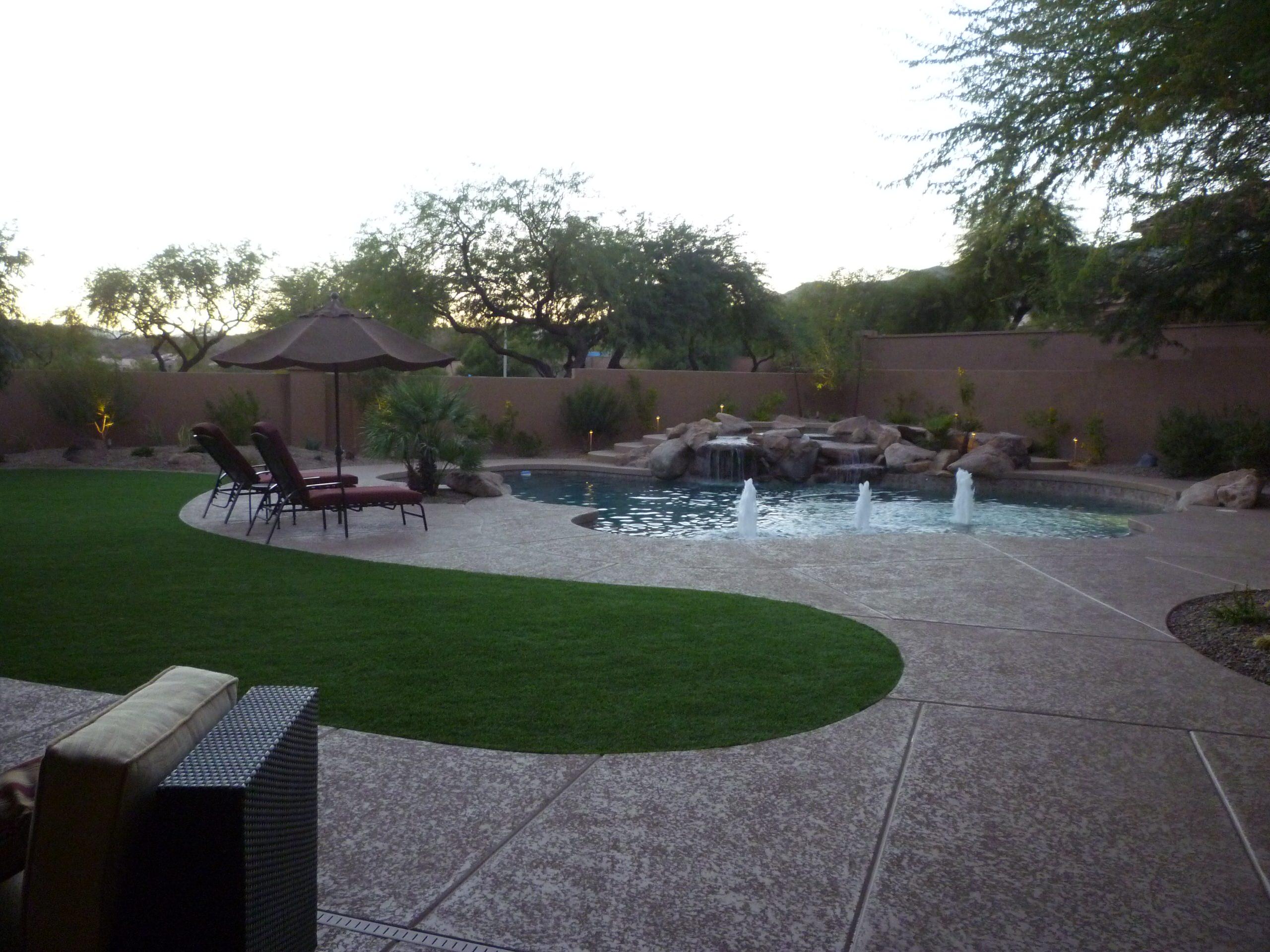 Pool Decking & Landscape