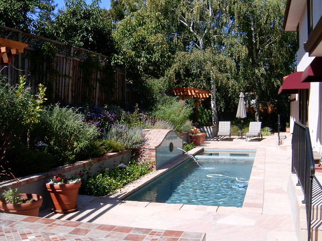 Pool For Small Space Monte Sereno Ca Contemporary Garden San Francisco By W  Jeffrey Pools In Small Spaces Set