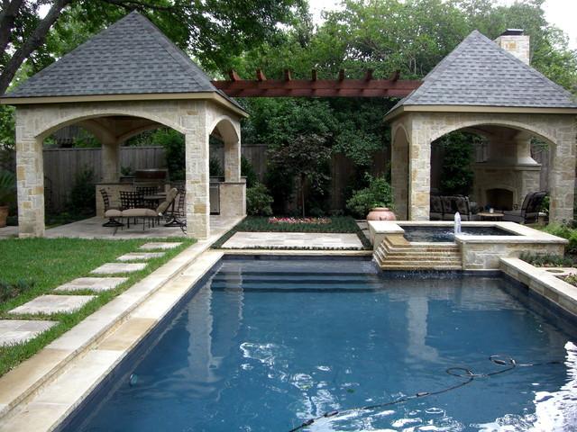 Poolside Paradise traditional-landscape