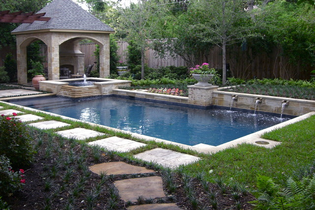 Poolside paradise traditional landscape dallas by for Garden design kerry