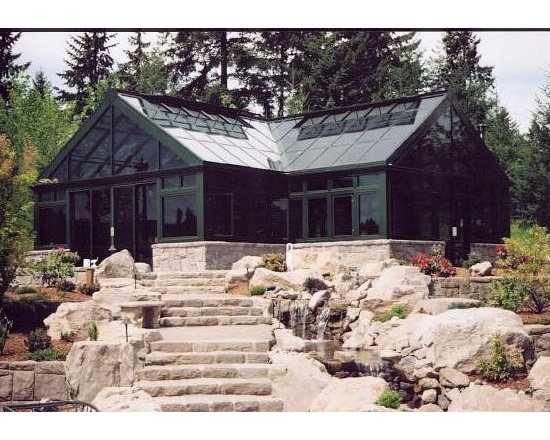 Portland Garden Room - The perfect blend of living and growing space.  Custom designed Garden Room in Portland.