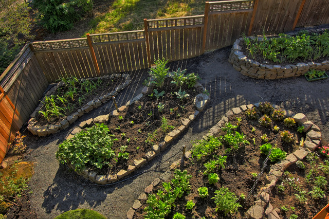 Garden Design: Garden Design With Portland Landscaping Outdoor