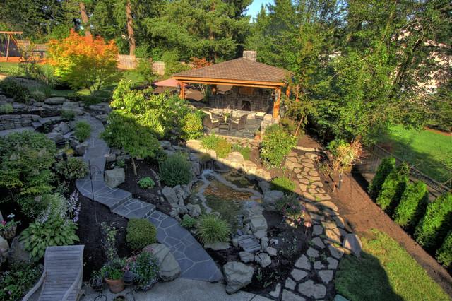 Portland landscaping outdoor living for Paradise restored landscaping exterior design
