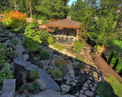Portland Landscaping Outdoor Living traditional-landscape