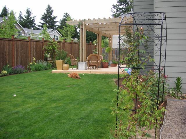 Portland oregon traditional landscape san francisco for Landscape design portland