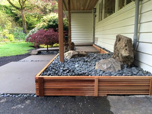 Portland oregon modern landscape designs modern for Landscape design portland