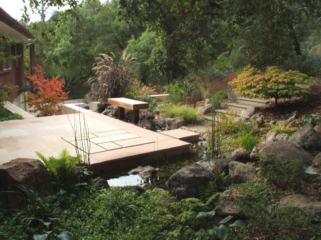 Kikuchi associates landscape architecture modern for Houzz landscape architects