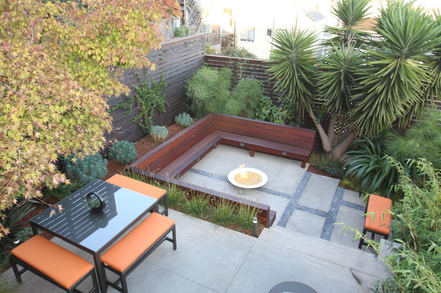 Potreo hill modern modern landscape san francisco for Outer space architecture design