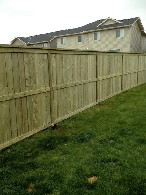 Privacy Fences traditional-landscape