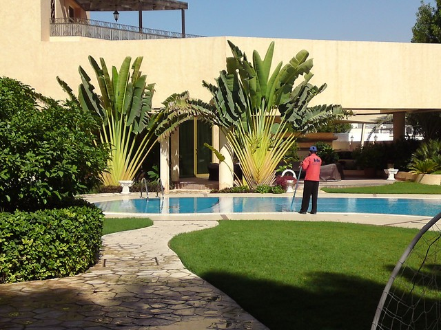 Private Garden space for Villa tropical-landscape