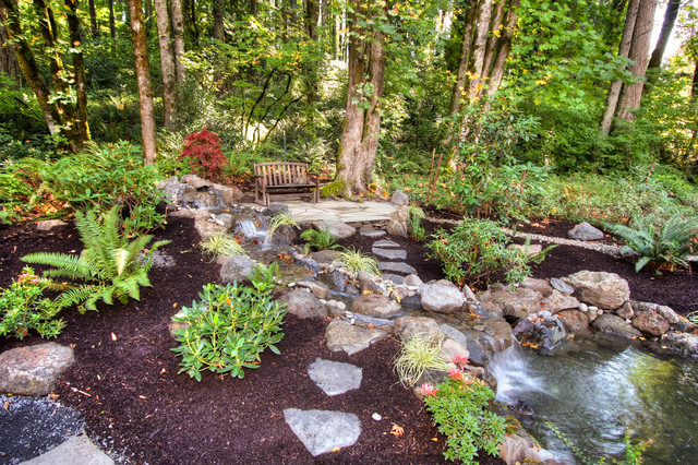 Private Paradise Portland Landscaping traditional landscape