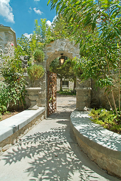 Private Residence traditional-landscape