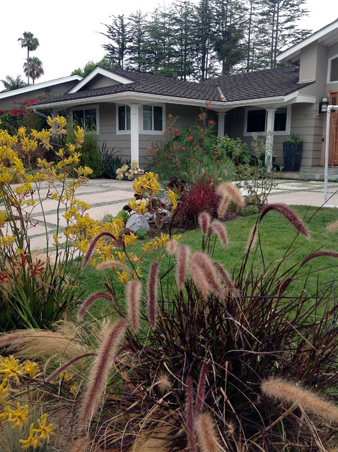 Garden Landscaping Newport : Private residence newport beach