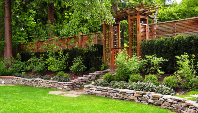 Private residence north vancouver for Landscaping rocks vancouver