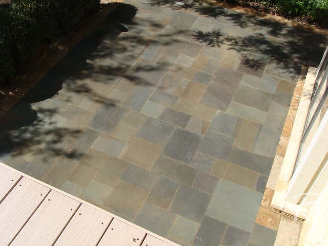 Private Residence Patio landscape