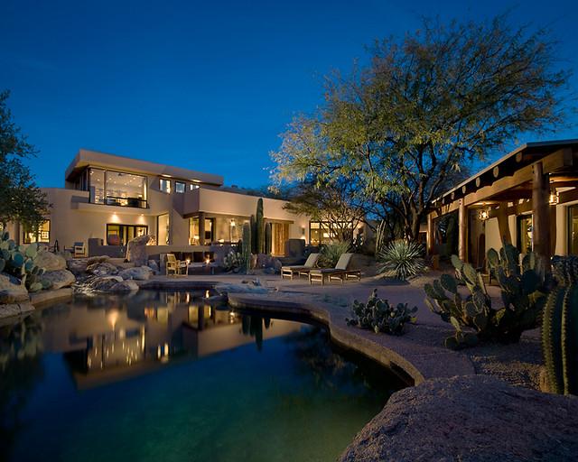 Private Residence, Scottsdale, Arizona traditional-landscape