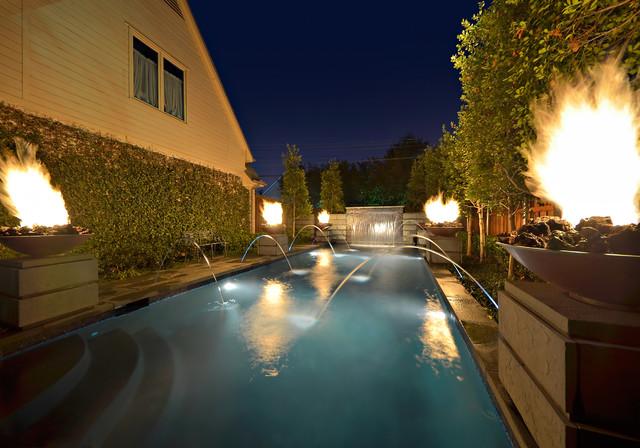 Private Residence - Small Garden Retreat modern-landscape