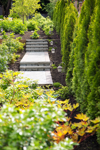 Private Residence West Side Vancouver traditional-landscape