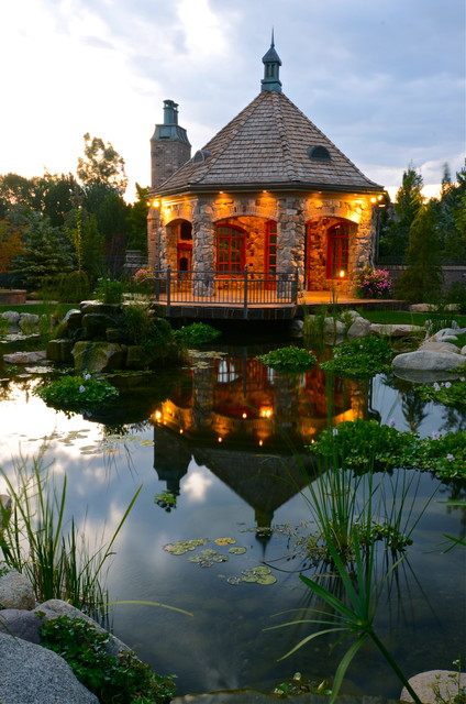 Provo River Estate Traditional Landscape Salt Lake