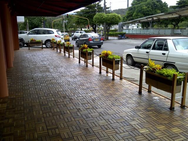 Proyecto Cerramiento Verde Restaurante La Barra Parrilla Bar ...