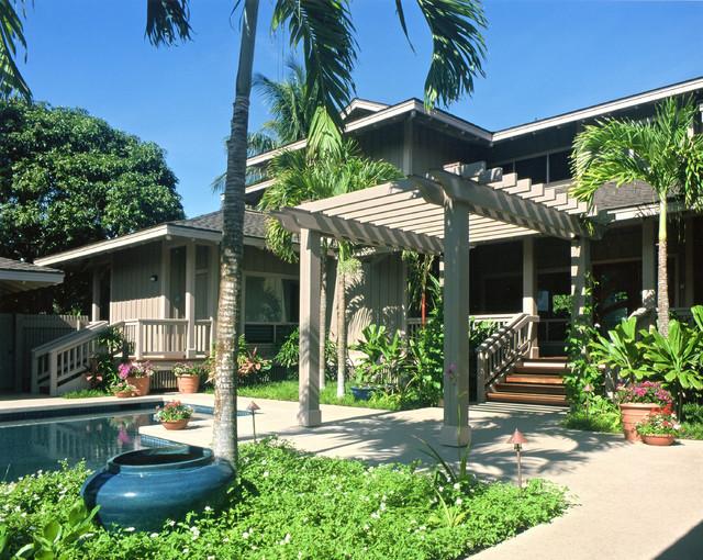 Chiplan landscape design hawaii for Tropical front garden designs