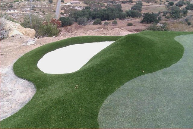 Putting Green Installations traditional-landscape