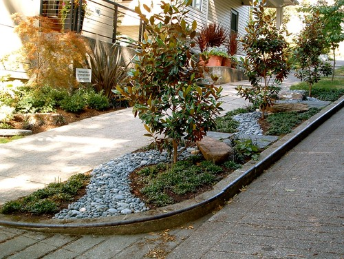 Creative solutions for small front yards - Practical ideas to decorate front yards in the city ...