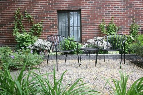Quiet outdoor space