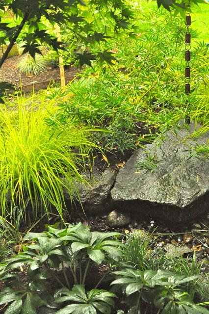 Rain garden contemporary landscape portland by for Landscape design portland