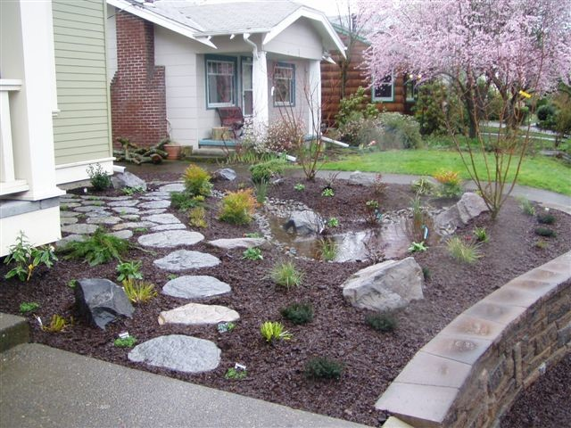 Design ideas for a craftsman landscaping in Portland.