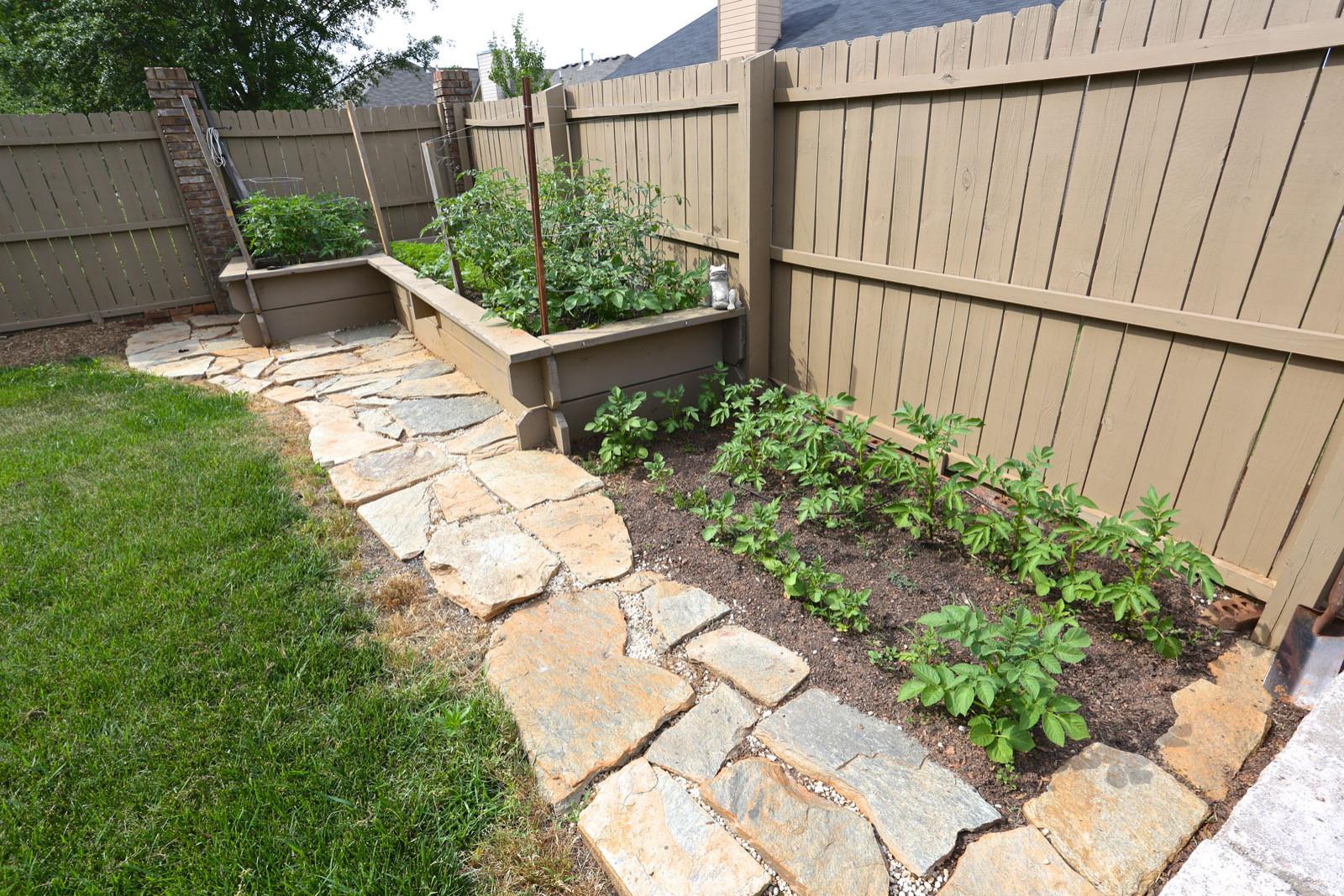 Raised Garden Area
