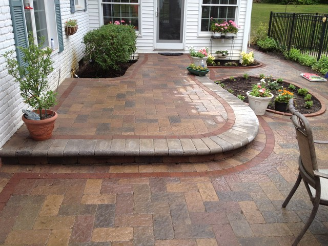 Raised patios contemporary landscape detroit by - Pictures of raised patios ...