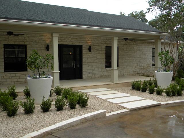 Ranch House Redo - Contemporary - Landscape - Austin - by ... on ranch landscape architect, ranch patio designs, ranch home elevation designs, ranch home porch designs, townhouse landscape designs, ranch landscaping designs, easy landscape designs, rustic home landscape designs, manufactured home landscape designs, town home landscape designs, victorian landscape designs, country home landscape designs, southwest home landscape designs, outdoor home landscape designs, ranch home kitchen designs, ranch garden designs, pond landscape designs,