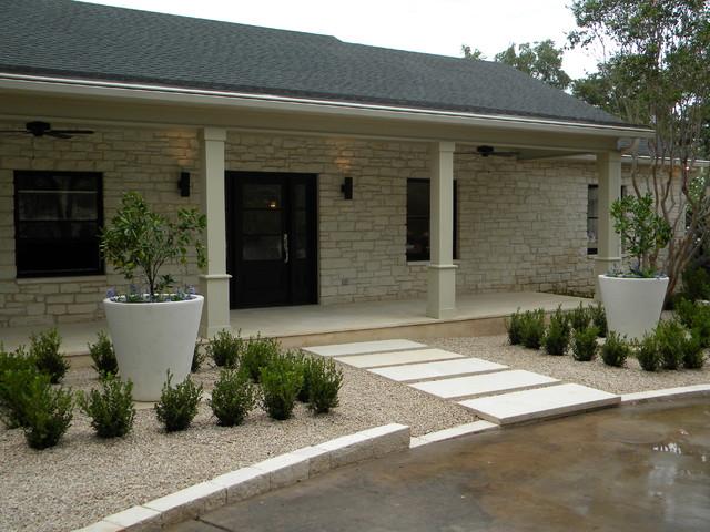 Ranch House Redo - Contemporary - Landscape - Austin - by Robert ...