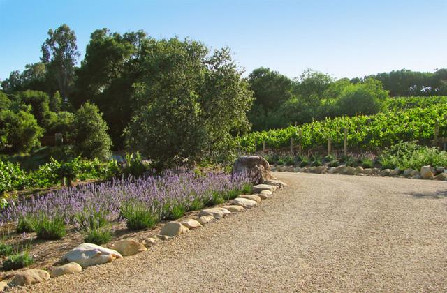 Rancho Alamar Mediterranean Landscape Santa Barbara