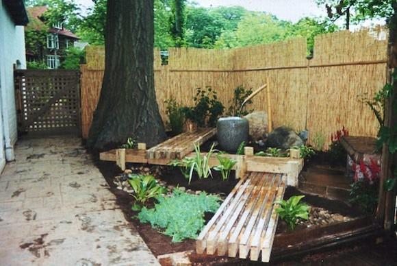 Ray johannes landscape design toronto japanese gardens for Japanese backyard garden design